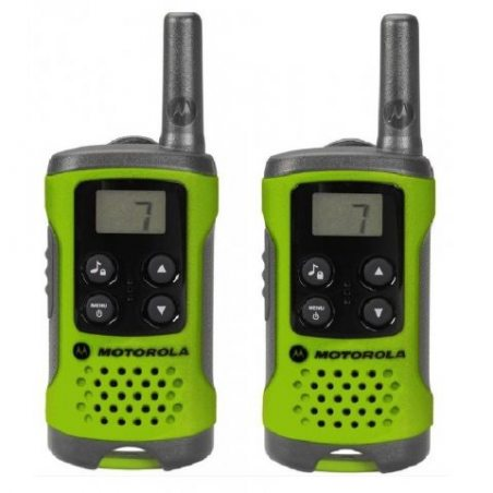 Motorola TLKR T41 Set de 2 talkies walkies Vert