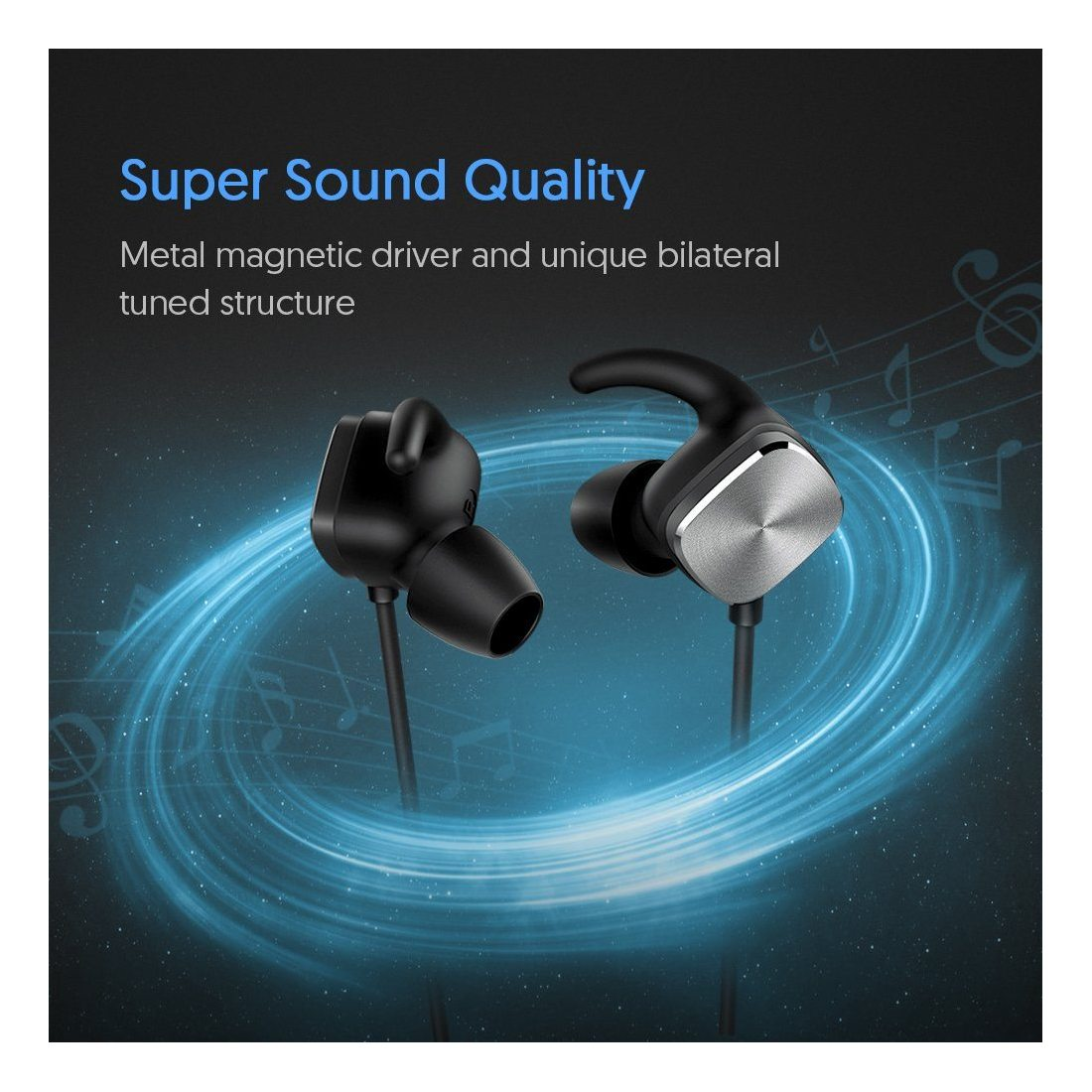 couteurs bluetooth sans fil techvilla casque bluetooth v4 1 oreillette intra auriculaire avec. Black Bedroom Furniture Sets. Home Design Ideas