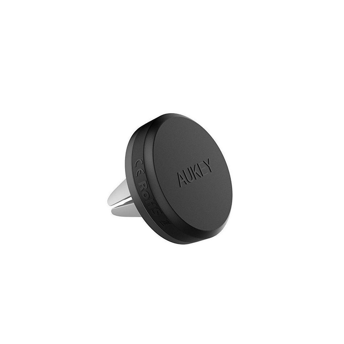 AUKEY Support Voiture Magnétique à Grille d'aération Support Téléphone Voiture Universel pour iPhone 7 / 6 / 5 , Samsung Note