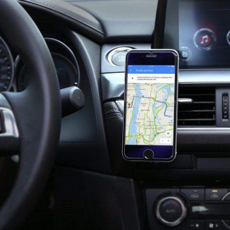 AUKEY Support Voiture Magnétique à Grille d'aération Support Téléphone Voiture Universel pour iPhone 7 / 6s / 6 / 5 / 5s , Sa