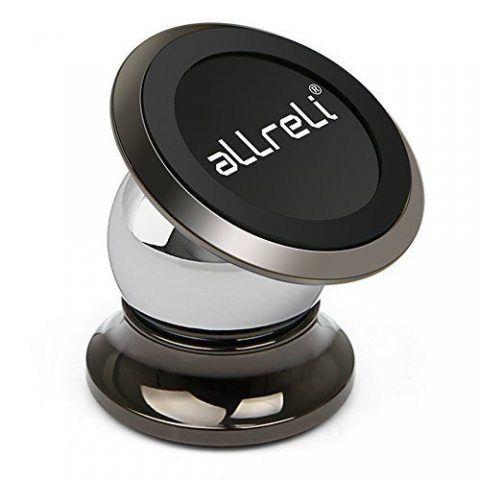 [Nouveauté] aLLreLi Support Magnétique Voiture Universel 360 Degrés Rotation pour iPhone 7, 7 Plus, 6, 6S, SE, 6 Plus, 6S Plu