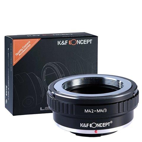 K&F Concept M42 - Micro Four thirds M4/3 MFT Panasonic Lumix bague d'adaptation montage d'objectif camera adaptateur GH1 GH2
