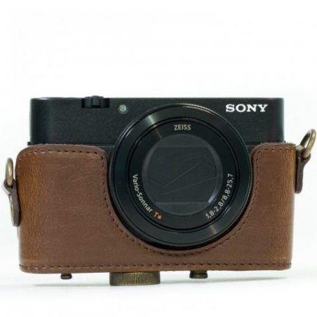 """MegaGear """"Ever Ready"""" Housse de protection de l'appareil photo en cuir, sac pour Sony Cyber‑shot DSC‑RX100 V, Sony Cyber-shot"""