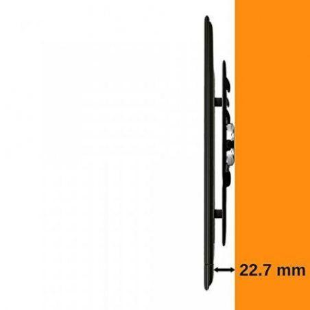 ATHLETIC Fixation murale pour le support d'une TV ultrafine – pour les écrans DEL, LCD et plasma de 22 à 46 pouces – Capacité