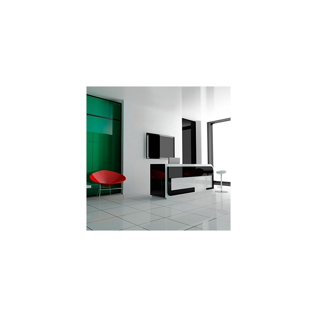 athletic fixation murale pour le support d une tv. Black Bedroom Furniture Sets. Home Design Ideas