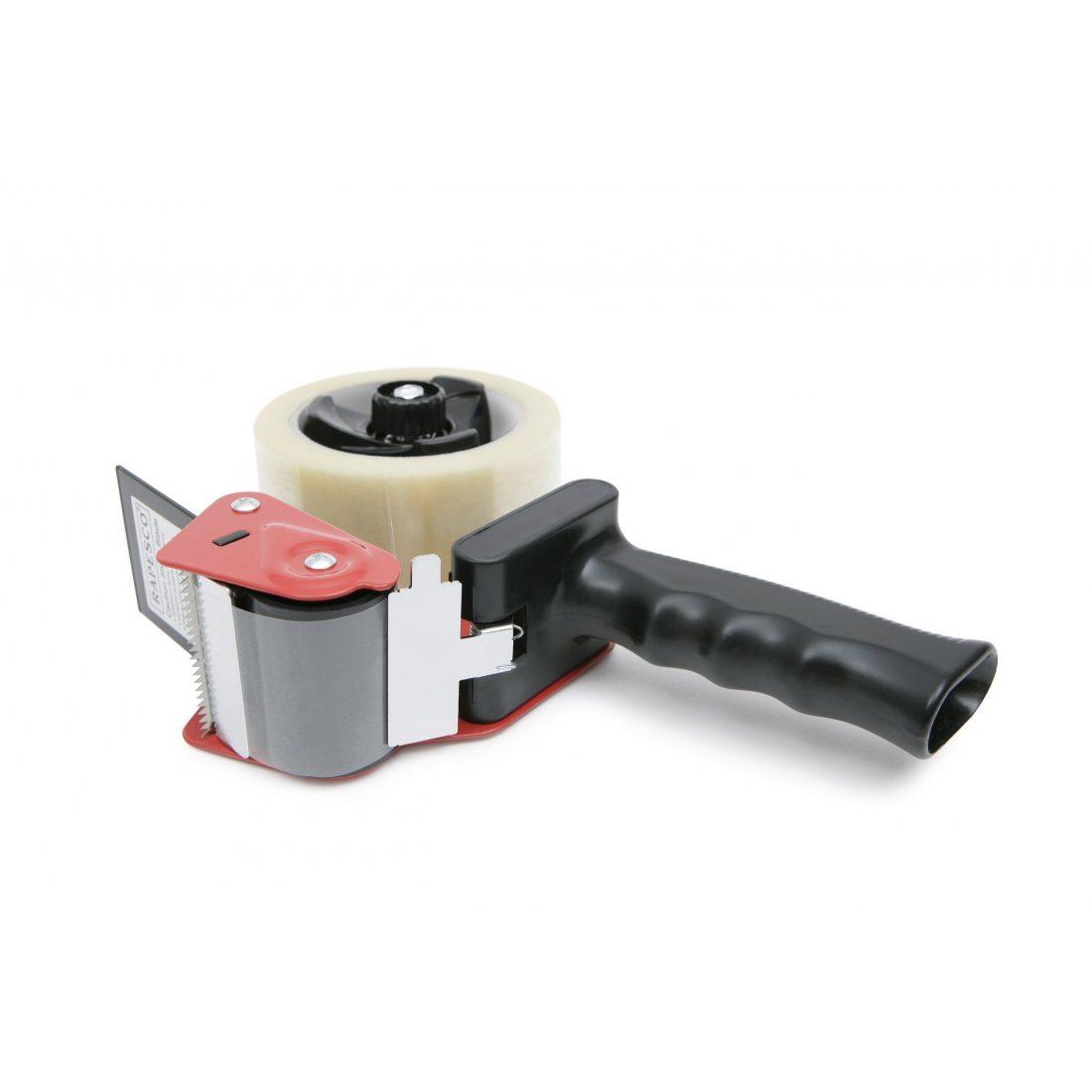 Rapesco TD9600A1 Dévidoir pour Ruban d'emballage Gris