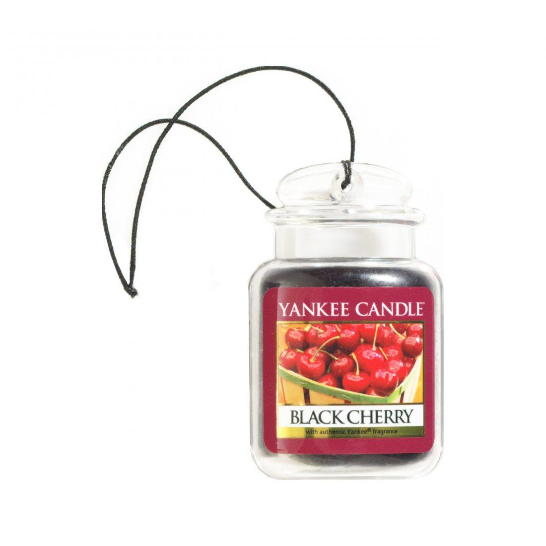 Yankee Candle (Bougie) - Black Cherry - Jarres Désodorisantes Ultimate pour Voitures