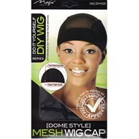 Do It Yourself Mesh Dome Wig Cap Cool Spandex With Wide Elastic Band DIY Wigs