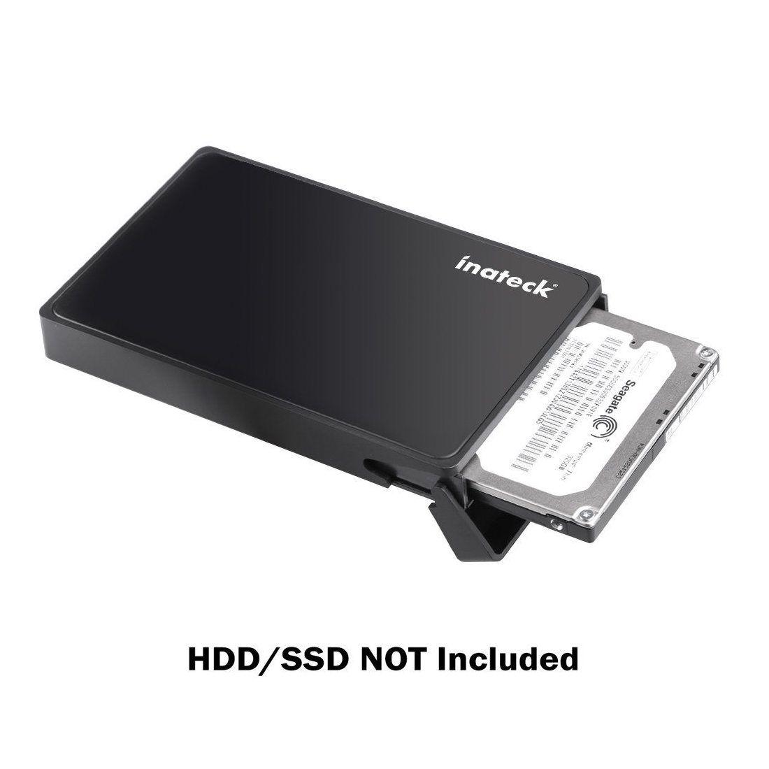 [Optimisé SSD/UASP compatible] Inateck USB 3.0 Boîtier disque dur 2,5 SATA disque dur externe 2,5 pouces / SSD