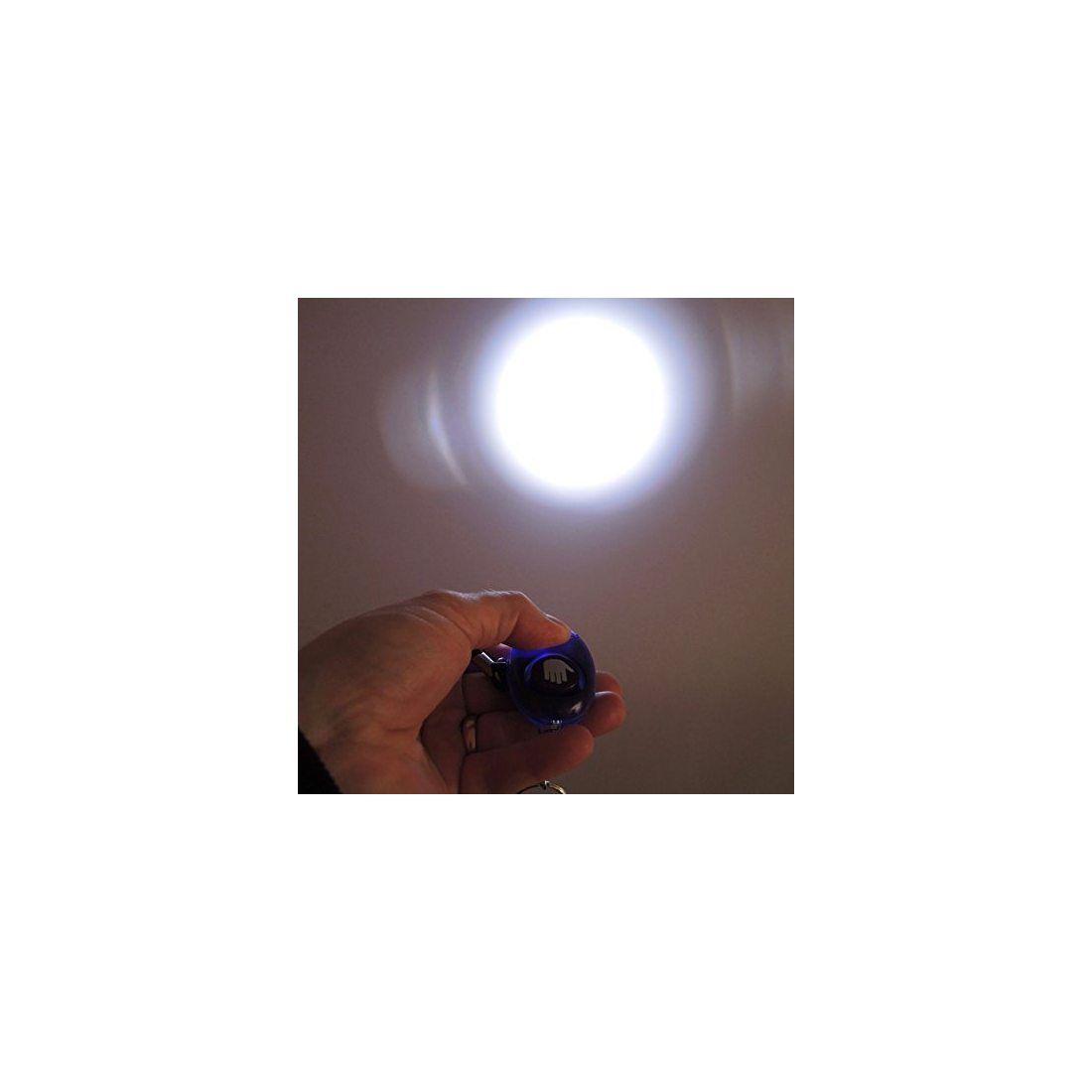 tiiwee Alarme Personnelle d'Urgence avec Torche - Deep Purple - 130dB - Anti Agression