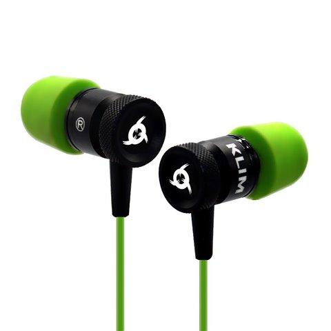 KLIM Fusion Écouteurs Haute Qualité Audio - Durable + Garantie 5 ans - Innovant : Intra-auriculaire avec Mousse à Mémoire de