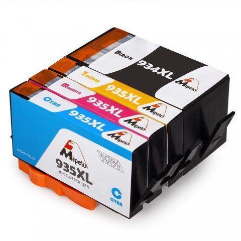 Mipelo Compatible HP 934XL 935XL 934 935 Cartouche d'encre pour HP Officejet Pro 6830 6835 6230 6836 6825 6812 6815 6820 Impr