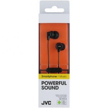 JVC HA-FR15-B-E Kits Oreillette Jack 3,5 mm Noir
