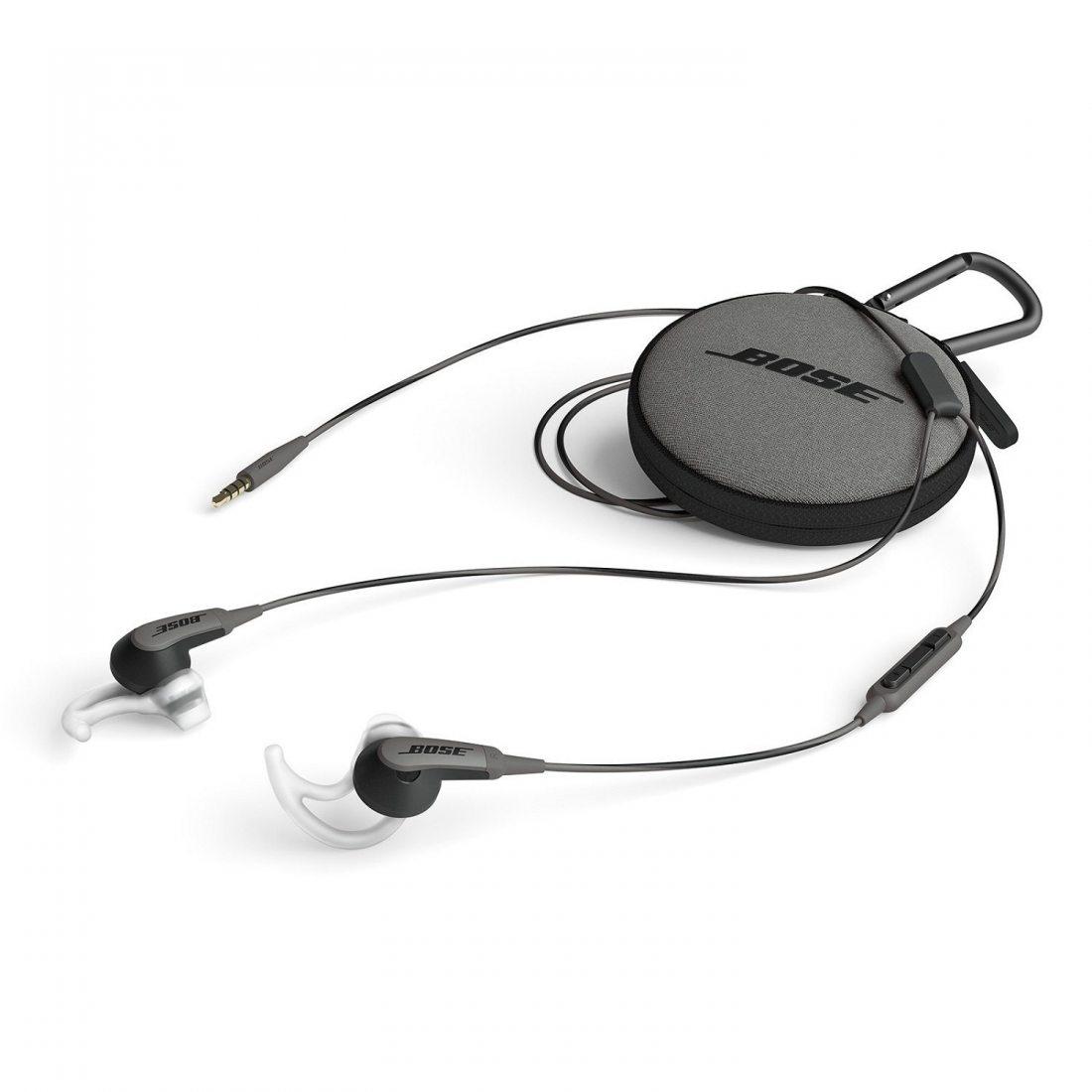 Écouteurs Bose SoundSport pour Appareils Apple - Noir Charbon