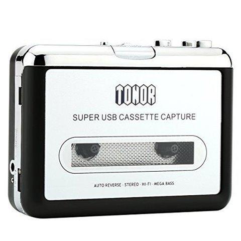 Tonor Portable de Cassette audio à MP3 convertisseur avec écouteurs CD Quickstar