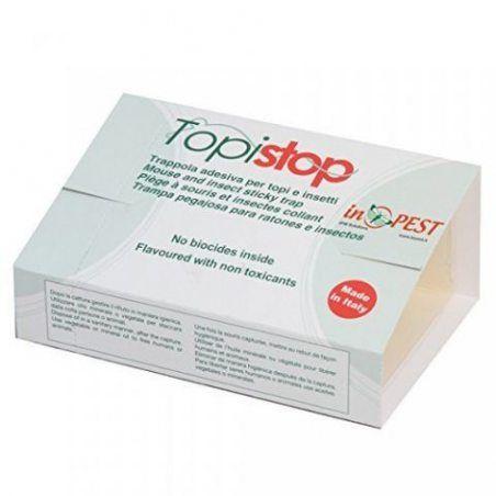 Lot de 10 plaque de glu pour souris - Topistop