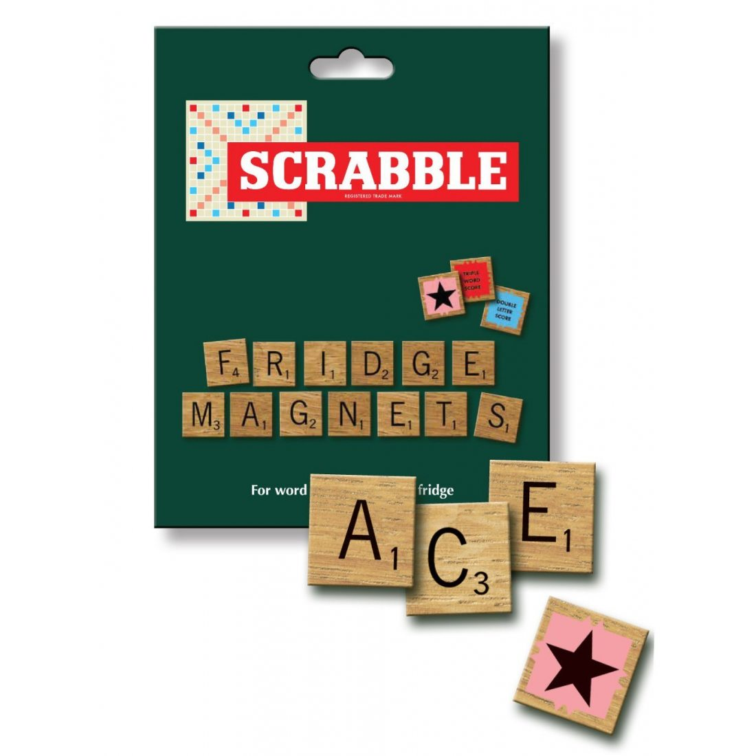 scrabble aimants carr s pour frigo. Black Bedroom Furniture Sets. Home Design Ideas