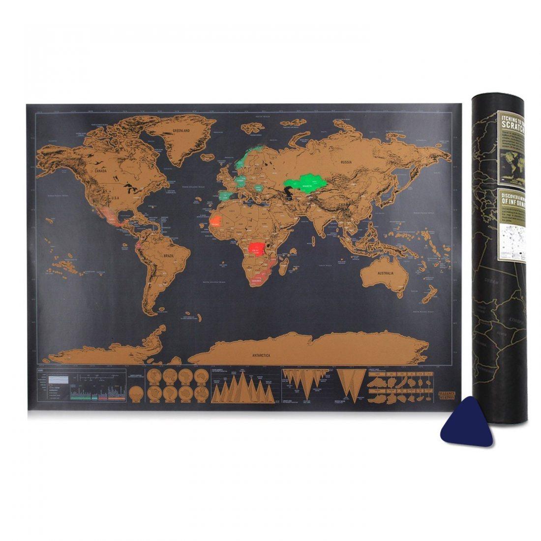 carte du monde samione scratch le monde carte du monde gratter scrape off world map grattez. Black Bedroom Furniture Sets. Home Design Ideas