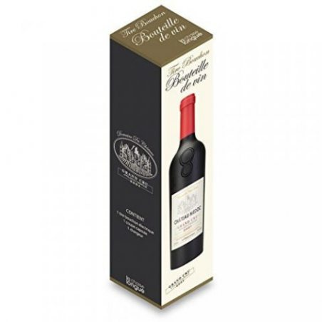 Tire-bouchon électrique Bouteille de vin Noir Avec Coupe-capsule La chaise longue 34-2K-012