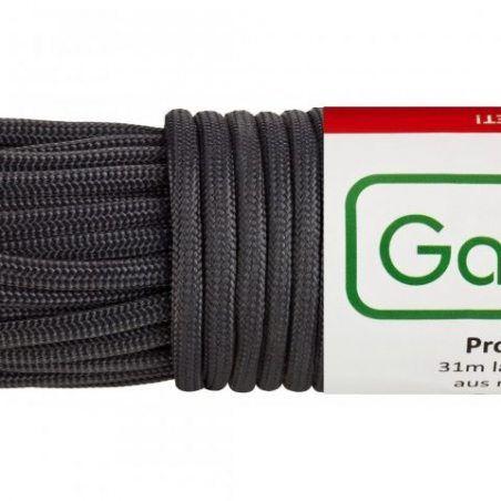 GardenMate® Corde en nylon professionnelle I Longueur 31mm Largeur 4mm I PLUSIEURS COLORIS I Paracord 550 I Drisse 7 brins en