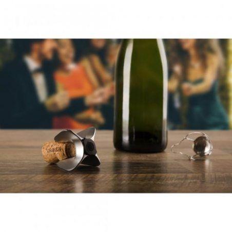 Vacu Vin 68615606 Griffe Ouvre-Bouteille de Champagne  Basic Acier 7 x 7 x 4,3 cm