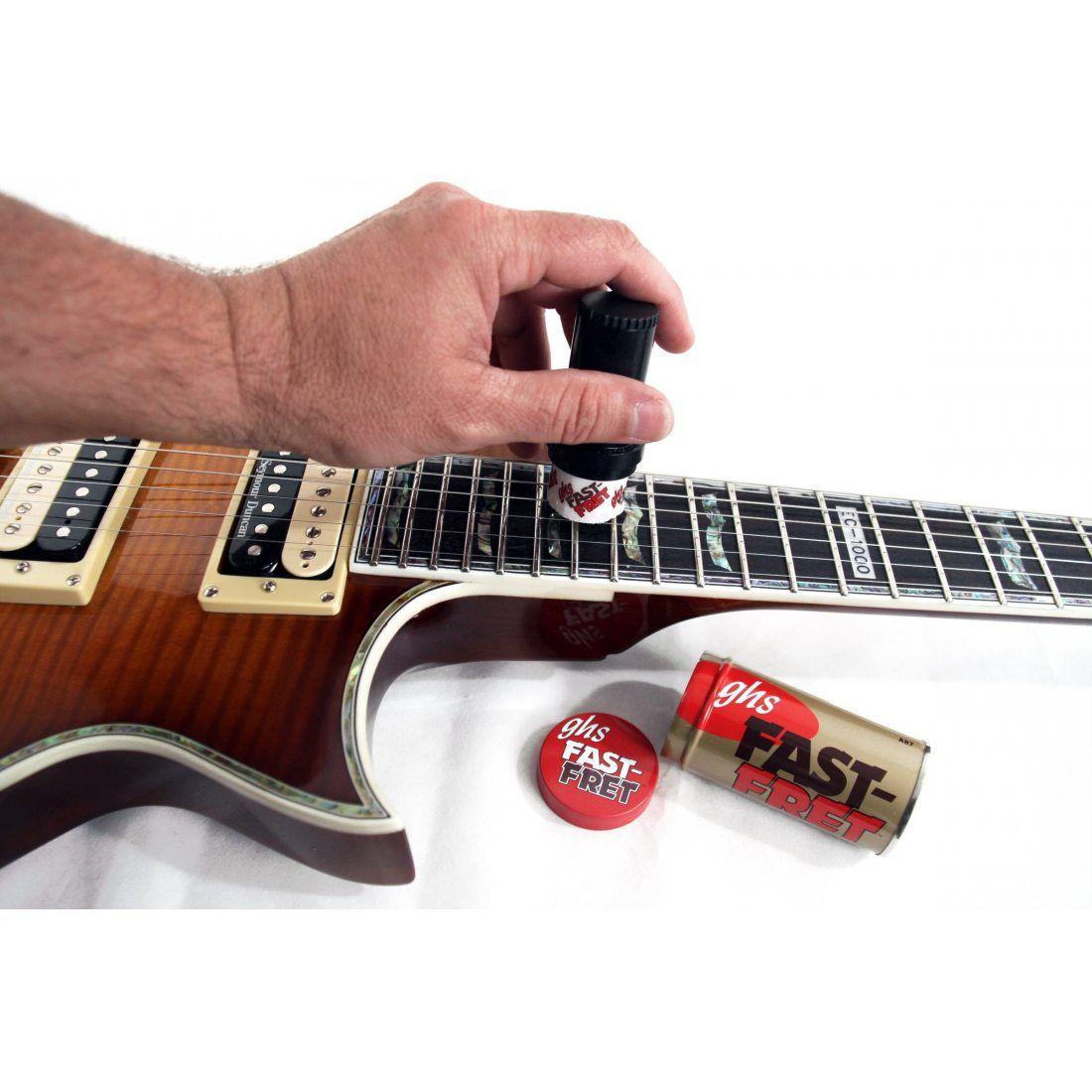 GHS Fast-Fret A87 Vernis pour Cordes de Guitare Rouge
