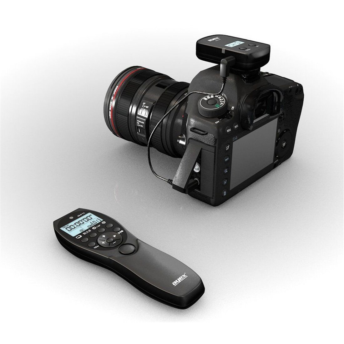 ayex AX-5/E3E3Minuteur Déclencheur à distance pour Canon EOS 1200D, 1100D, 1000D, 650D, etc.