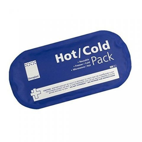 Steroplast - 2 poches gel - chaud/froid - 14x27 cm
