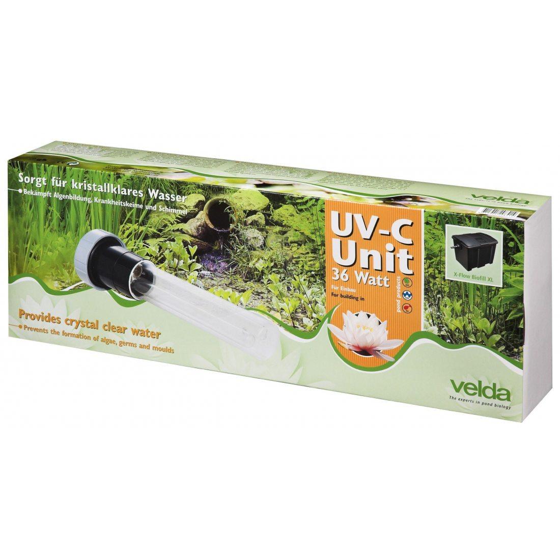 Velda, module UV-C 36 watts anti-algues pour bassin d'agrément, 126576