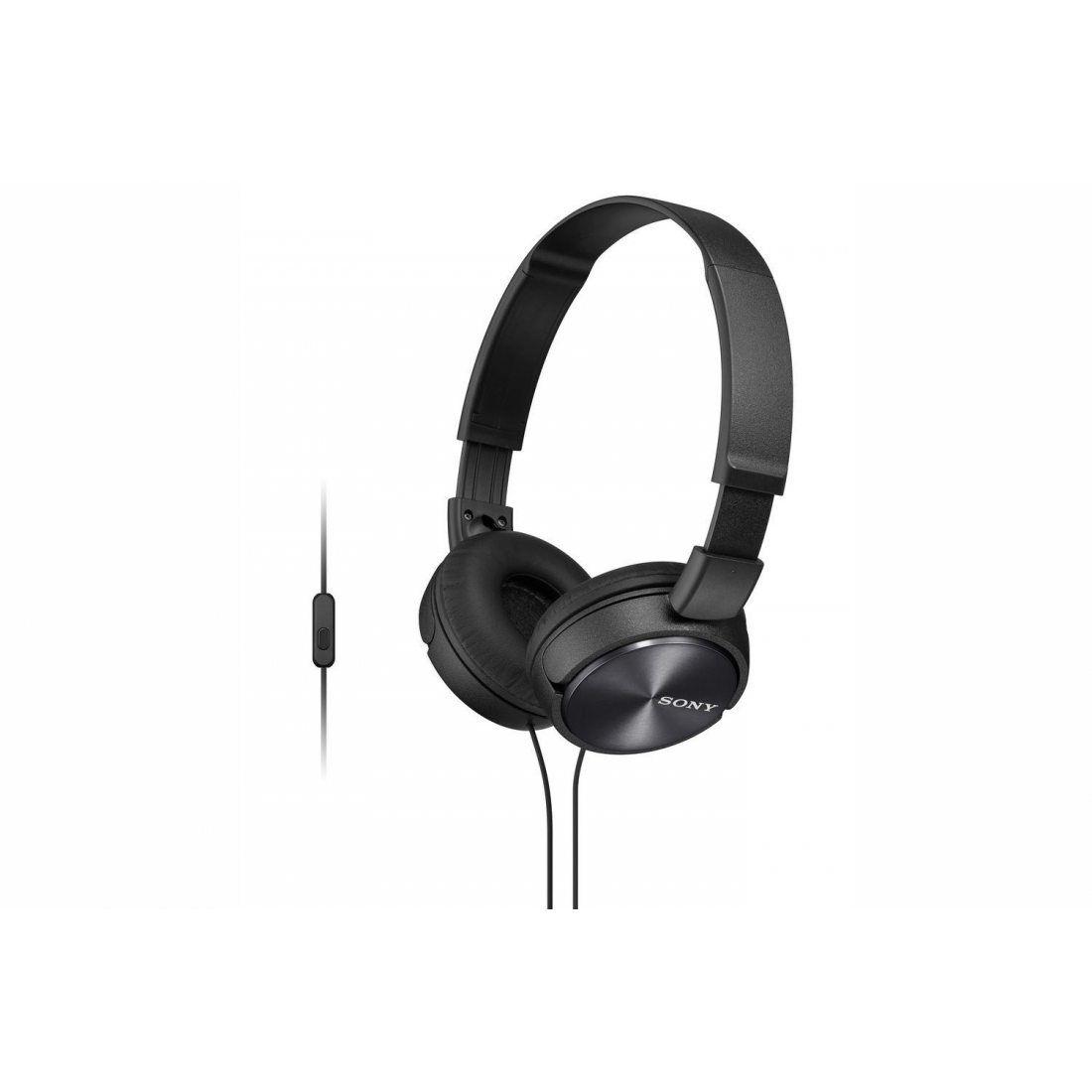 Sony MDR-ZX310APB Casque Pliable avec Microphone - Noir