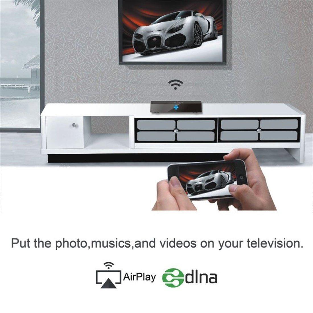 VIGICA X96 TV Box Android 6.0 Marshmallow Amlogic S905X Quad Core 2G 16G Smart TV Box 4K WIFI DLNA