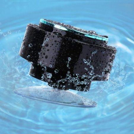 Guzack Enceinte Douche Bluetooth étanche, IP67 Certifié étanche Bluetooth Haut parleur Sans Fil Neuftech Douche Enceinte, Ven