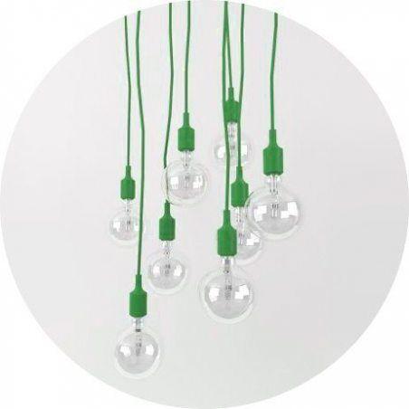Suspension E27 Douille+Ampoule Torup vert style Muuto