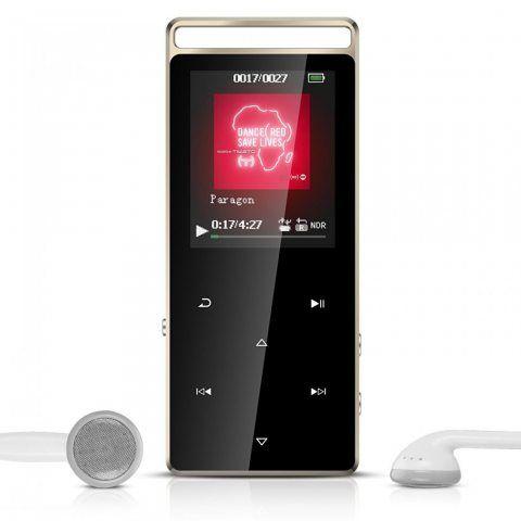 AGPTEK A01 Lecteur MP3 en Métal Sport 8Go Stéréo Excellent Lecteur Baladeur avec boutons tactiles & bouton de verrouillage (