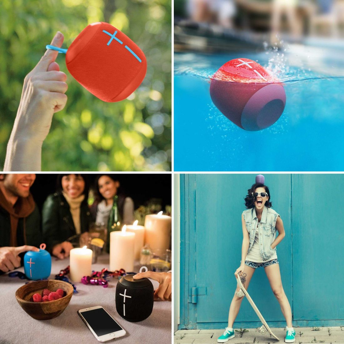 Ultimate Ears WONDERBOOM Enceinte Bluetooth, Waterproof avec Connexion Double - Noir