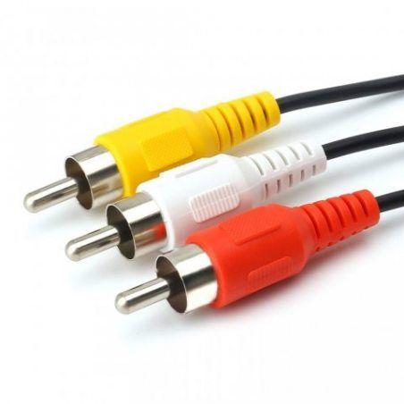 Siyear vidéo Ligne 7broches S-Vidéo mâle vers 3RCA Male Cable, Md7p mâle/3RCA mâle, pour les lecteurs DVD, CD, TV/HDTV, mag