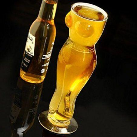 Sexy Verre à bière 1pinte–Boîte Cadeau Adulte fantaisie Verre à bière Cadeau pour homme
