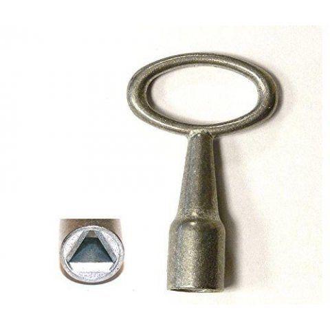 Cléà mandriner avec intérieur à trois pans 4mm, Clé triangulaire, Cléà douille