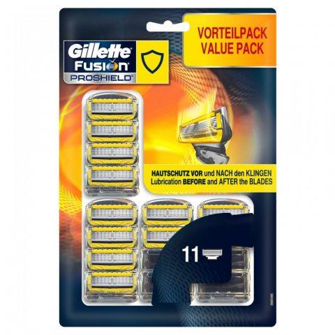 Gillette Fusion ProShield Lames De Rasoir Pour Homme - 11Recharges