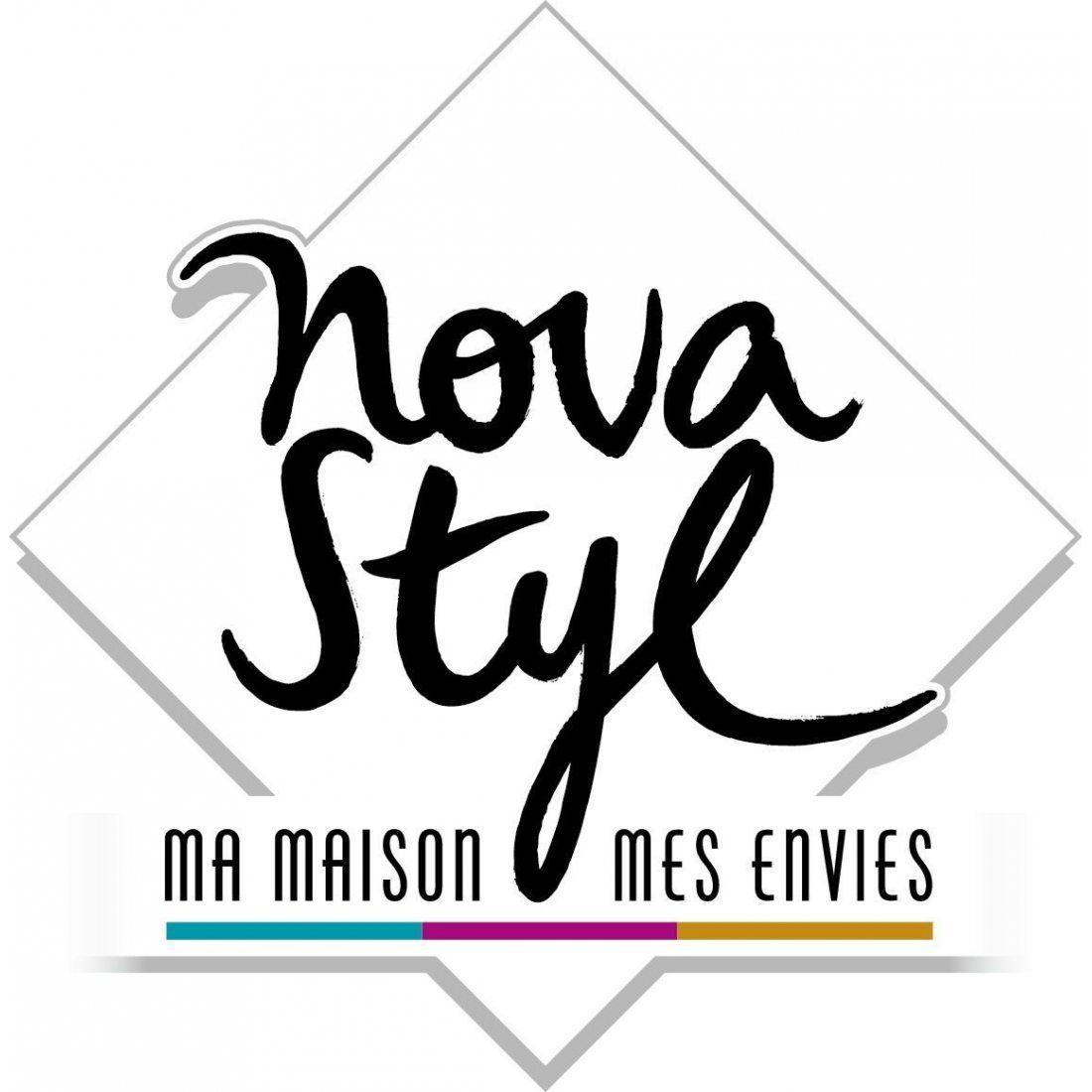 Novastyl 8010686 Pois Rouge Plateau avec Anse Mélamine Rouge 47 x 31 x 0,5 cm