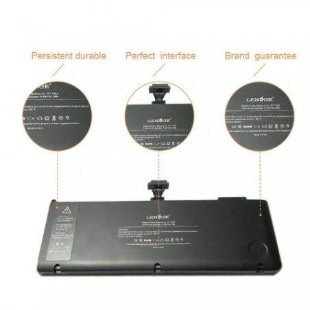 """LENOGE A1382 Batterie pour Apple A1382 A1286 (Core i7 Début 2011 Fin 2011 mi-2012) Unibody MacBook Pro 15 """"MC723, MB985 , MB9"""