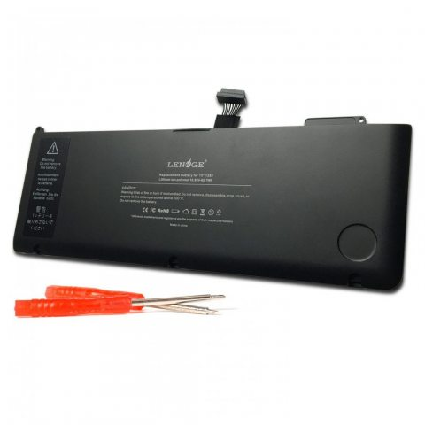 "LENOGE A1382 Batterie pour Apple A1382 A1286 (Core i7 Début 2011 Fin 2011 mi-2012) Unibody MacBook Pro 15 ""MC723, MB985 , MB9"