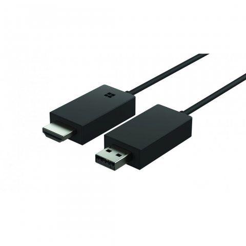 Microsoft Wireless Display Adapter V2 -  Adaptateur d'Affichage sans Fil Miracast - Noir