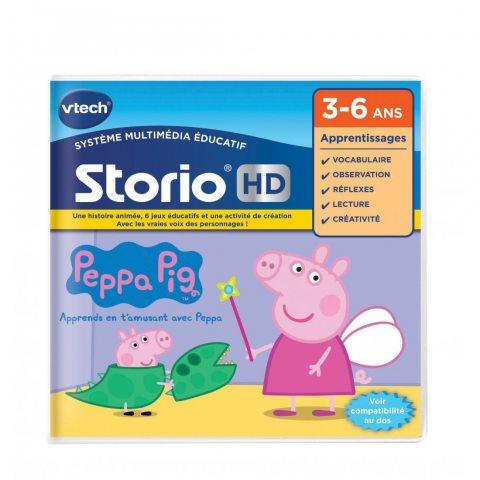 VTech - 273405 - Jeu HD Storio - Peppa Pig