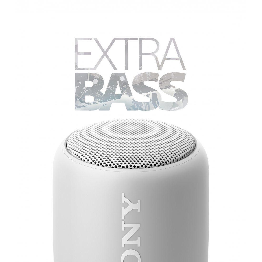 Sony SRS-XB10W Enceinte portable compacte sans fil Bluetooth NFC - Blanc