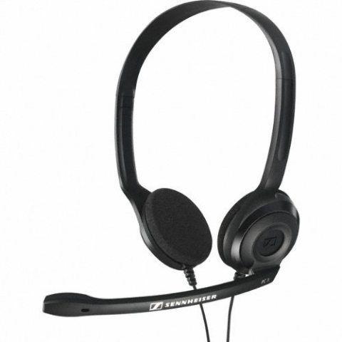 Sennheiser PC3 chat Micro-Casque PC VOIP binaural Noir