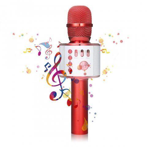 Bluetooth Microphone Karaoké, NASUM sans fil 4.1 de haut-parleur de Machine pour la voix et chant Enregistrement, pour adulte