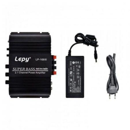 LEPY LP-168S Amplificateur de puissance stéréo audio Super Bass HI-FI de 1 p. 100 AMP pour appareils audio domestiques de voi