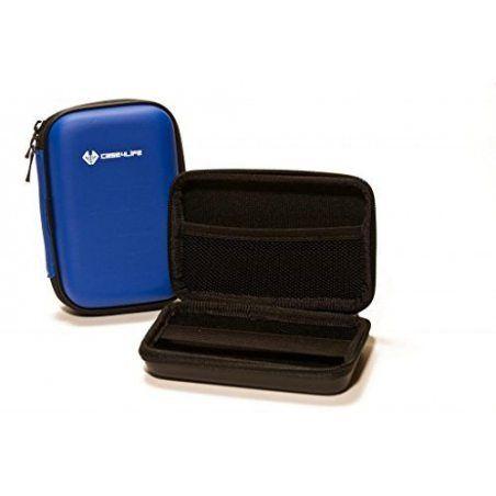 """Case4Life Bleu 2,5"""" rigide housse Étui disque dur externe pour Western Digital WD Elements / My Passport Ultra / Edge / Mac /"""