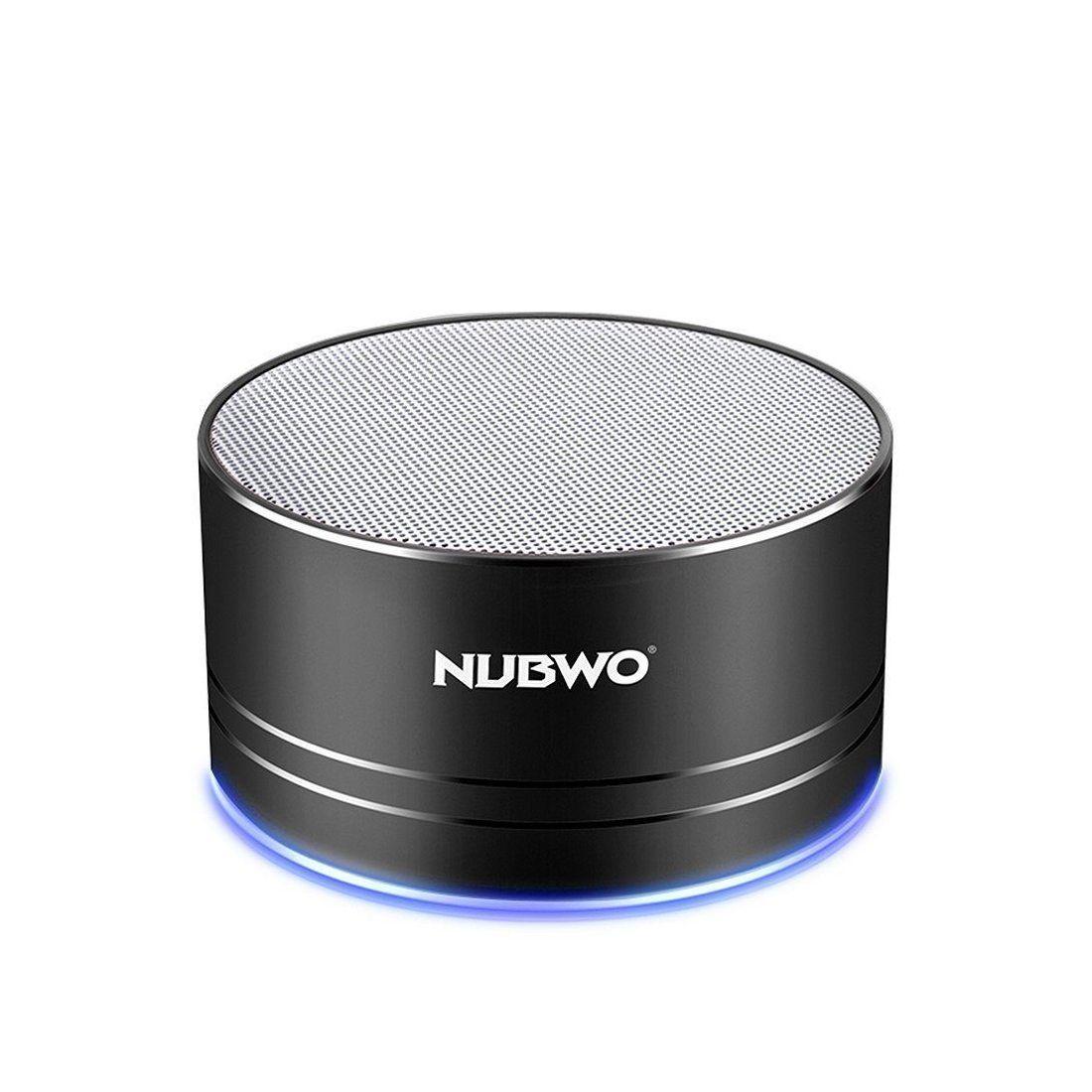 Haut-Parleur Bluetooth, Nubwo Mini Haut-parleur de Voyage Portable Sans Fil avec Son de Qualité Supérieure, 5 heures de Lectu